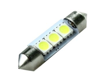 ŻARÓWKA LED C5W 36 mm 3 SMD 5050 CAN BUS