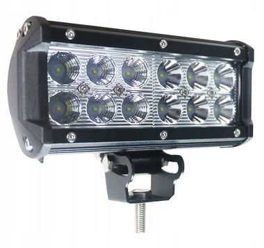 PANEL 12 LED LAMPA ROBOCZA HALOGEN 36W 12-24V OFF